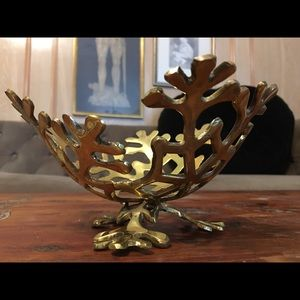 Other - Brass snowflake tray